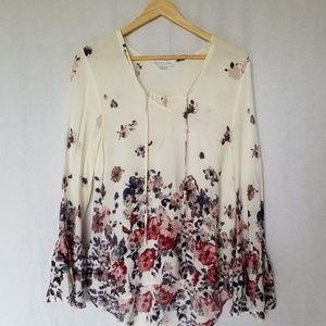 Loveriche BOHO bell sleeve blouse top small 😀